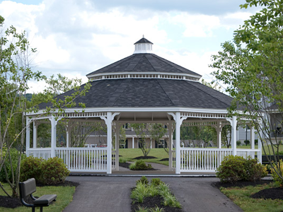 Wood Custom Gazebos in Allentown PA